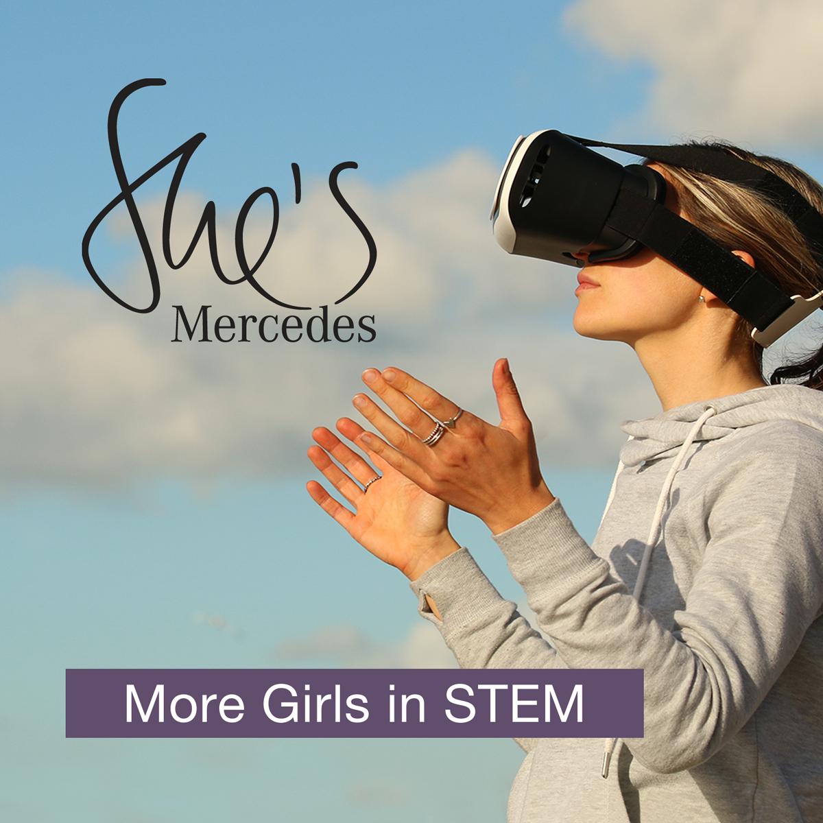 She's Mercedes-More girls in STEM